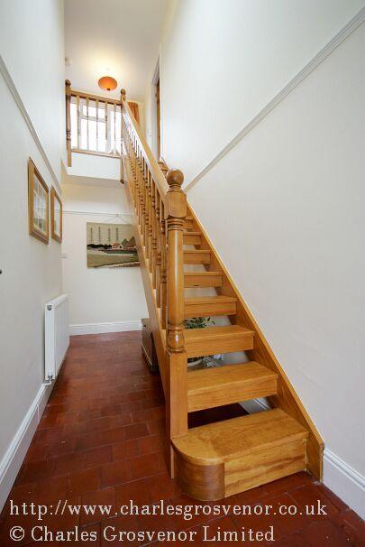 Open Plan Straight Flight Of Stairs