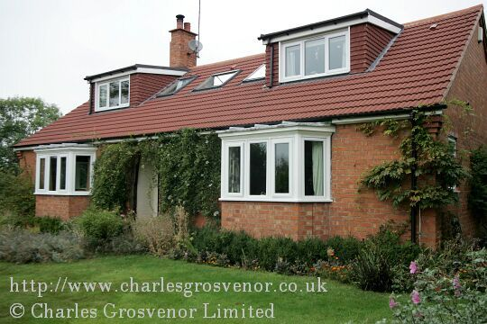 Bungalow with dormer windows