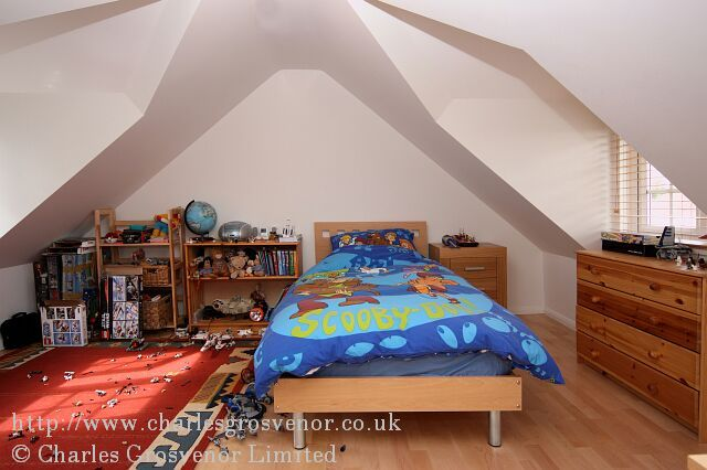 Childrens loft bedroom