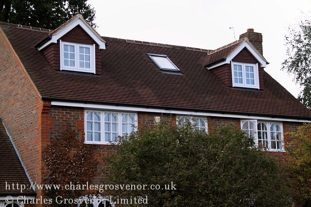 Loft conversion with dormer windows