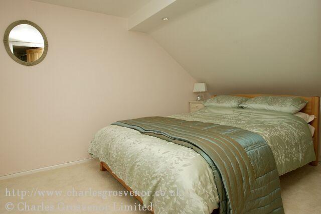 Large double bedroom in loft conversion