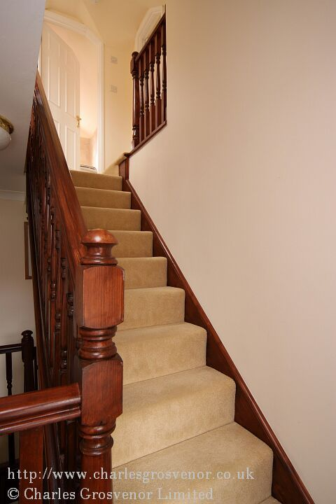 Staircase to loft conversion