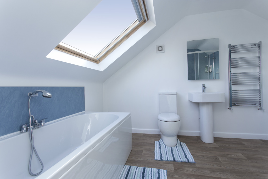 Fully fitted bathroom in the loft conversion