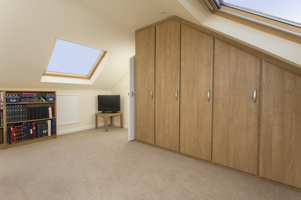 Space from fitted furniture