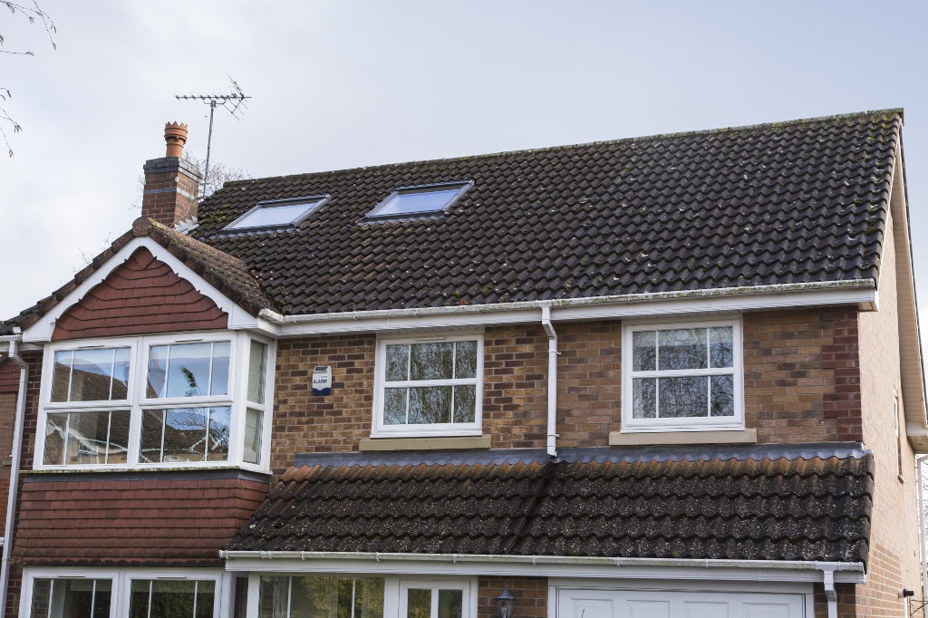 Rooflights fit in well with existing roof
