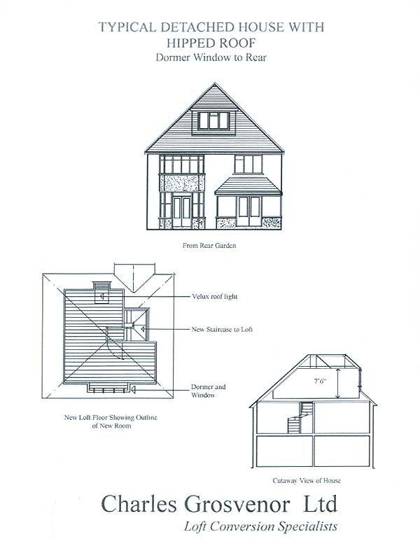 Bedroom Loft Conversions Charles Grosvenor