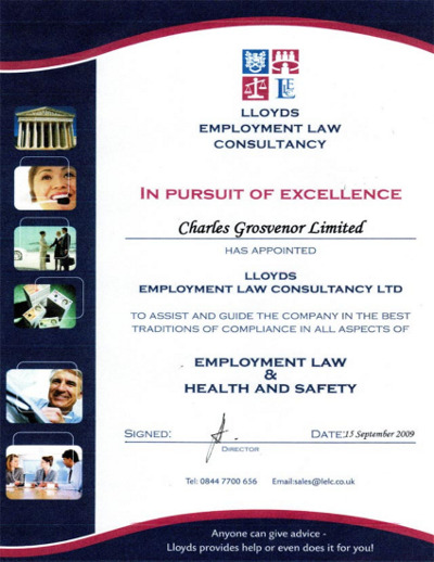 Lloyds Employment Law Certificate