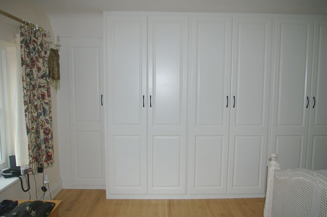 Bespoke double wardrobe in Dormer conversion in Oxford