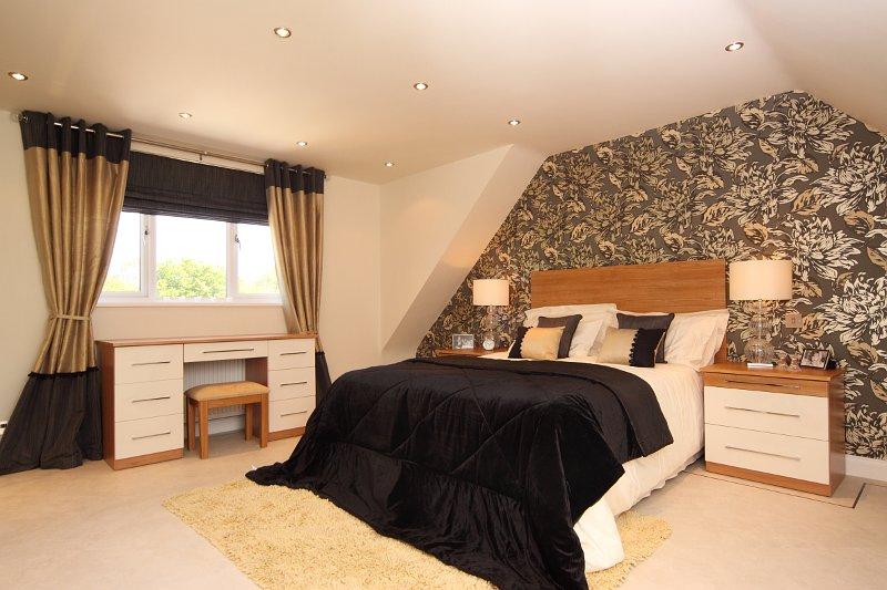 Loft conversion showroom charles grosvenor - Dormer window house plans extra personality ...
